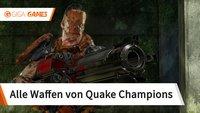 Quake Champions: Alle Waffen mit Werten und Bildern