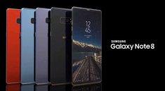Samsung Galaxy Note 8: Hard Reset & Neustarten – so geht's