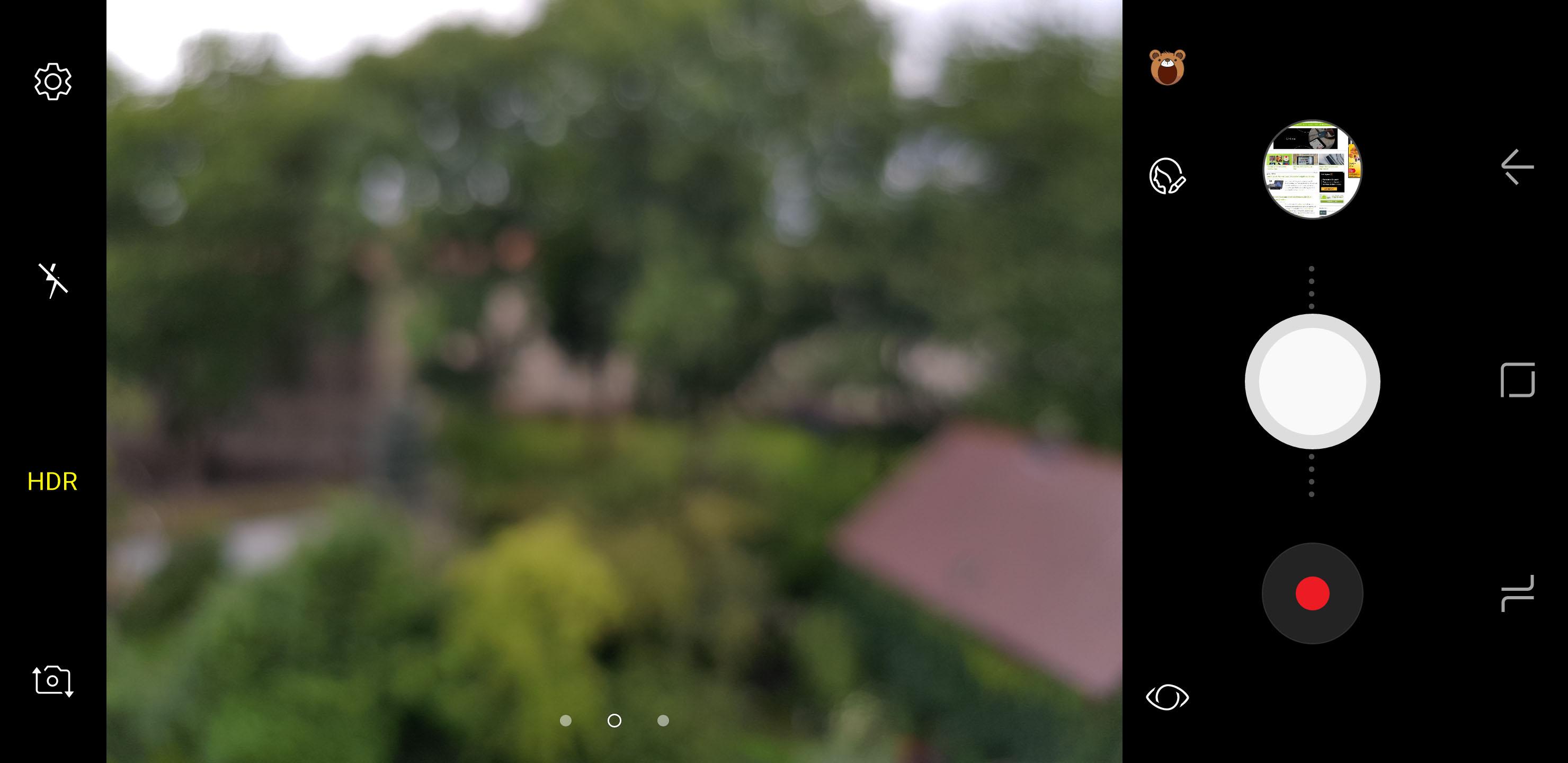 Iphone 8 foto hintergrund unscharf