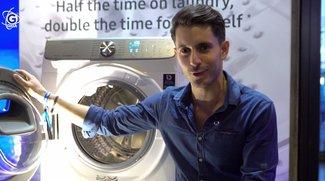 Samsung QDrive: 3D-Effekt spart Zeit beim Wäschewaschen