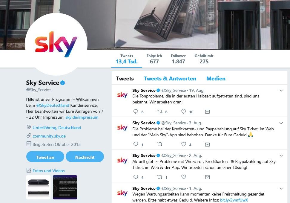 Sky Ticket Login Mögliche Probleme Und Ihre Lösung Giga