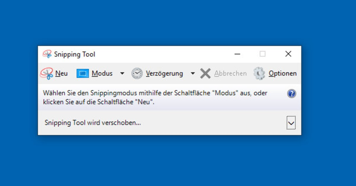snipping tool in windows 10 not working