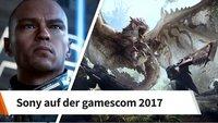 gamescom 2017: Das ist das Spiele-Line-Up von Sony