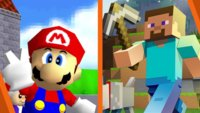 Super Mario 64 komplett in Minecraft nachgebaut