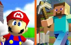 Super Mario 64 komplett in...