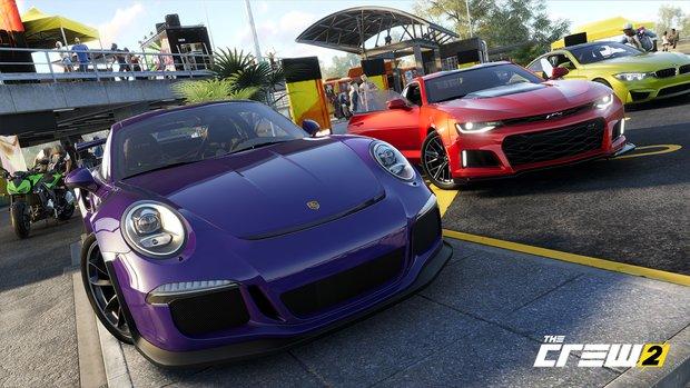 The Crew 2: Autos, Motorräder und Liste aller bestätigten Fahrzeuge