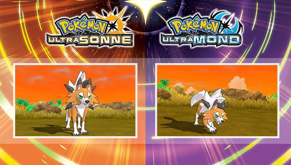 Pokémon Ultramond/Ultrasonne: Neue Form von Wolwerock vorgestellt