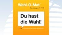 Bundestagswahl 2017: Der Wahl-O-Mat ist ab jetzt online