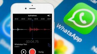 WhatsApp-Tipp: So nimmt man Sprachnachrichten komfortabler auf