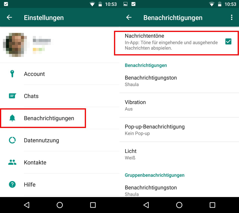 Lösung Kein Ton Bei Whatsapp Nachricht Android Iphone Giga