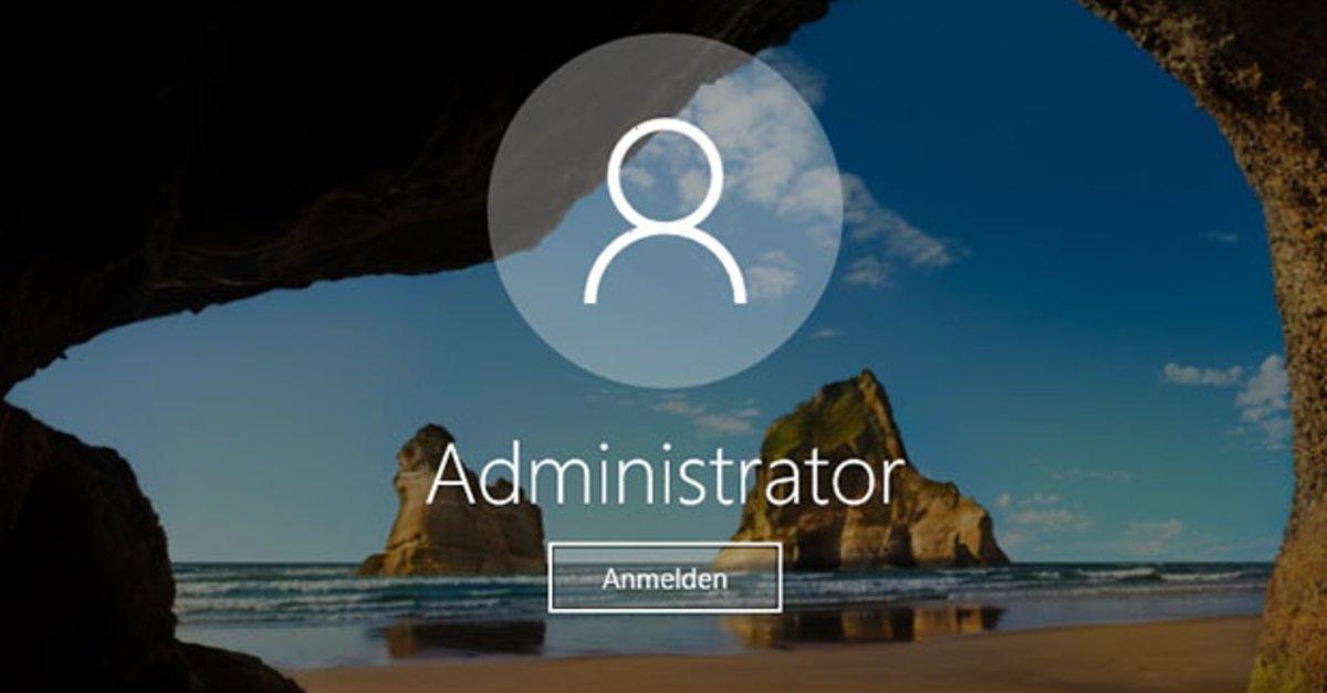 Als Administrator Anmelden