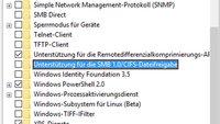 SMBv1 deaktivieren (Windows, Netzwerk)