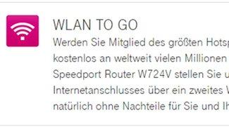 Telekom Fon deaktivieren (WLAN TO GO) – so geht's