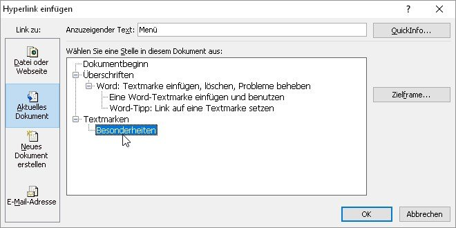word-textmarke-verlinken