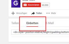 YouTube-Video einbetten – so...