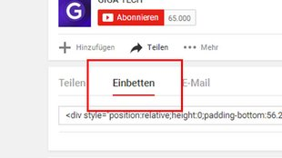 YouTube-Video einbetten – so geht's