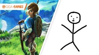 So sieht Zelda: Breath of the Wild ohne Cel-Shading aus