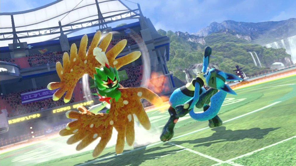 Unter anderem das Pokémon Silvarro ist exklusiv in der DX-Version von Pokémon Tekken spielbar.