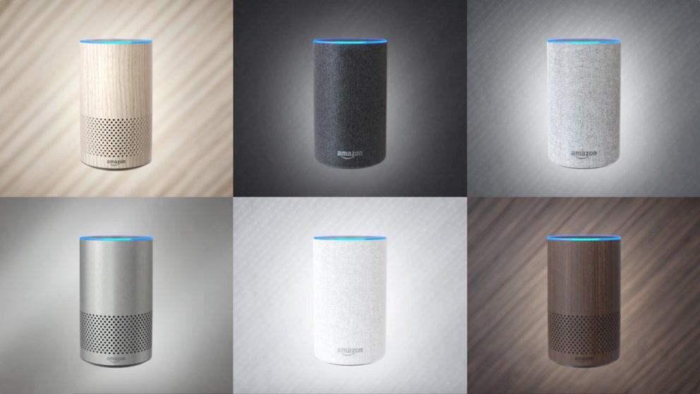 Amazon Echo 2. Generation Farben