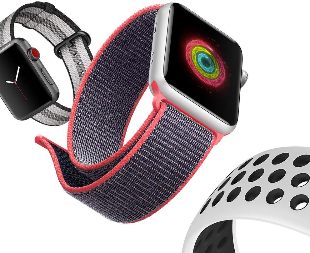 Neue Armbänder für die Apple Watch – Bild: Apple
