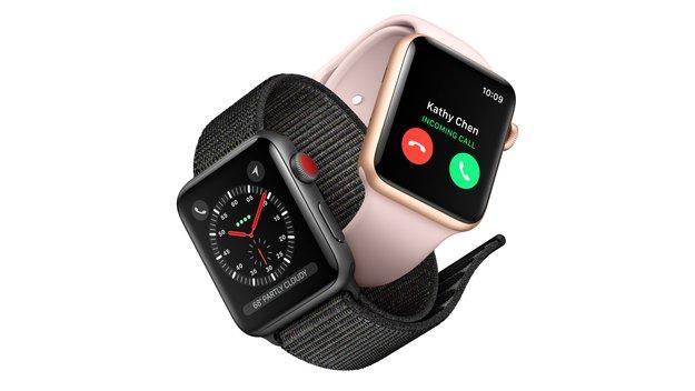 Apple Watch Series 3: LTE-Modell erfreut sich großer Beliebtheit