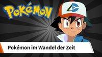 So sehr haben sich die Charaktere im Pokémon-Anime geändert