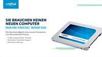 Schnell statt mechanisch: Gewinnt mit Crucial und GIGA eine BX300-SSD