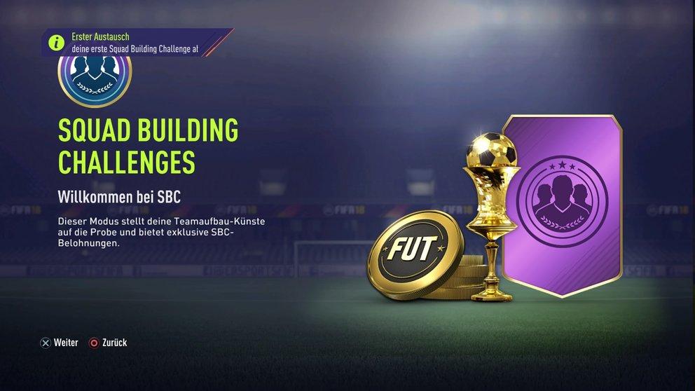 FIFA 18 SBC