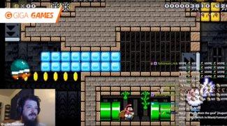 Super Mario Maker: Nach über 480 Stunden meistert Streamer sein eigenes Level