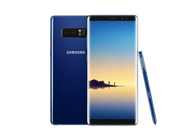 Das Galaxy Note 8 erstrahlt jetzt in Blau: Deepsea-Blue-Edition ab sofort erhältlich