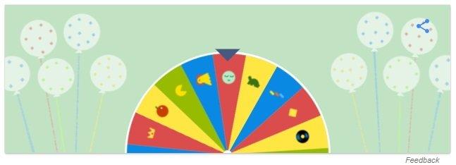 Google-Geburtstagsueberraschung-doodle-19-jahre-gluecksrad