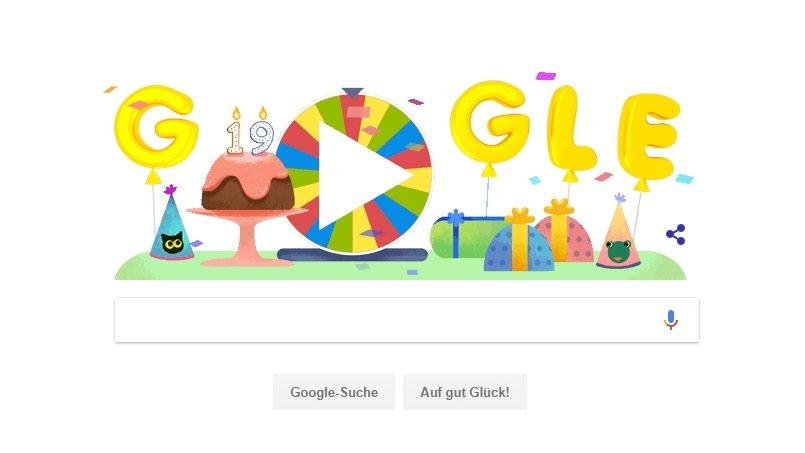Google Geburtstagsüberraschung: Die besten Spiele der letzten 19 Jahre