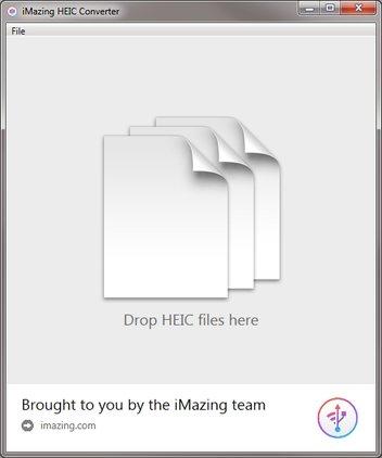 HEIF zu JPEG iMazing HEIC Converter