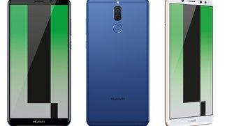 Huawei Mate 10 Lite vorgestellt: Vier Kameras für die Mittelklasse