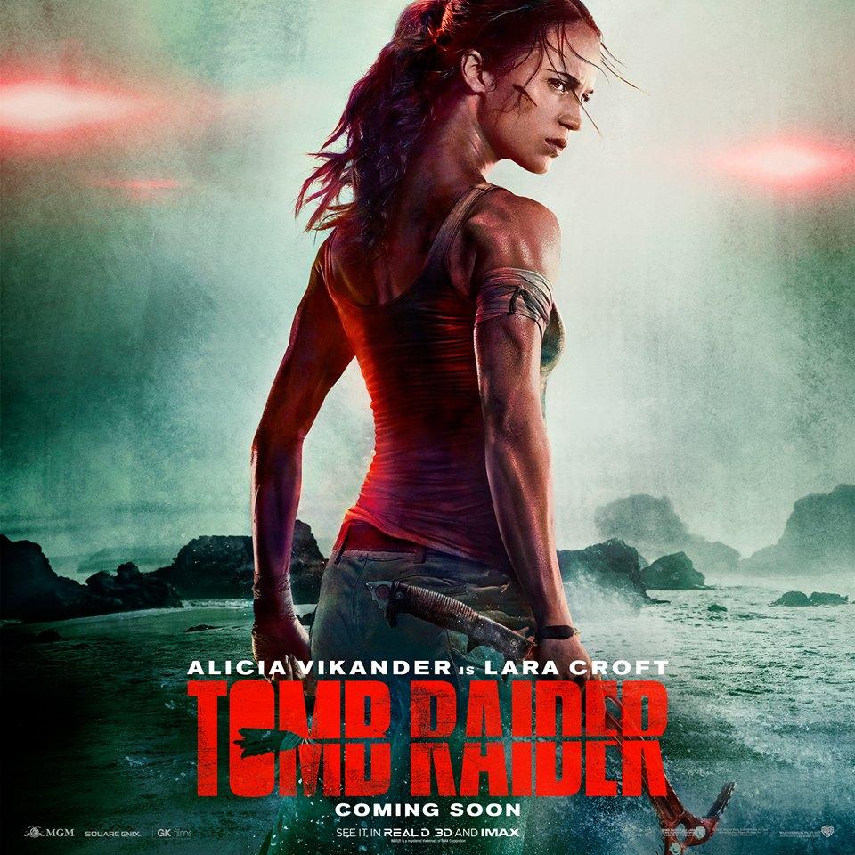 Tomb Raider: Offizielles Poster & Trailer-Ankündigung