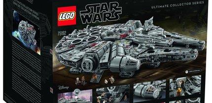 Der Lego Star Wars Millennium Falcon 75192 in voller Pracht: Ein Traum geht in Erfüllung