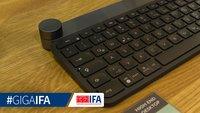 Logitech Craft im Video-Hands-On: Tastatur mit cleverem Drehrad angeschaut