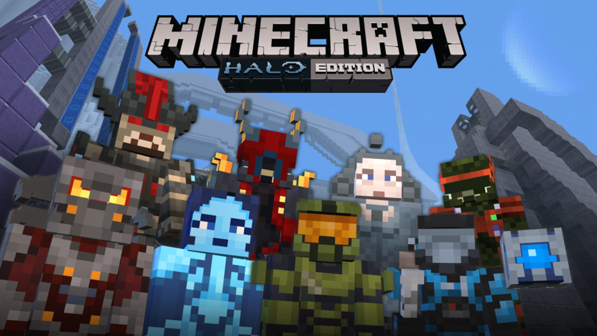 Halo Erscheint Auf Nintendo Switch In Minecraft