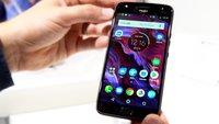 Lenovo Moto X4 im Hands-On-Video: Schickes Alexa-Smartphone mit smarter Kamera