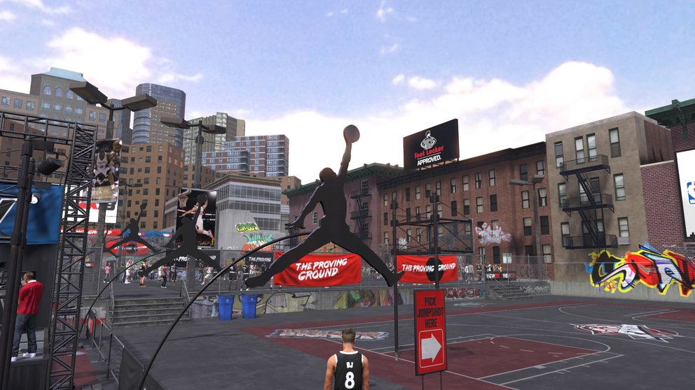 NBA 2K18 Power Forward Build