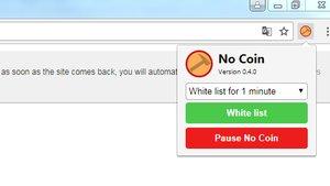 NoCoin für Chrome