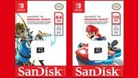 Nintendo Switch: Diese SD-Karte ist die Lösung für künftige Speicherplatz-Engpässe