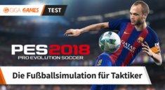 PES 2018 im Test: Die Fußballsimulation für Taktikfüchse