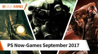 PlayStation Now: Das sind die neuen Games im September 2017