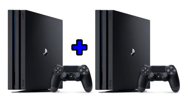 PS4-Pro-Aktion bei MediaMarkt: 2 Konsolen zum Sparpreis