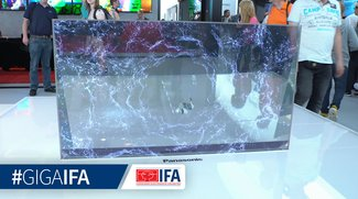 Futuristischer Panasonic OLED-TV-Prototyp: Die IFA 2070 lässt grüßen