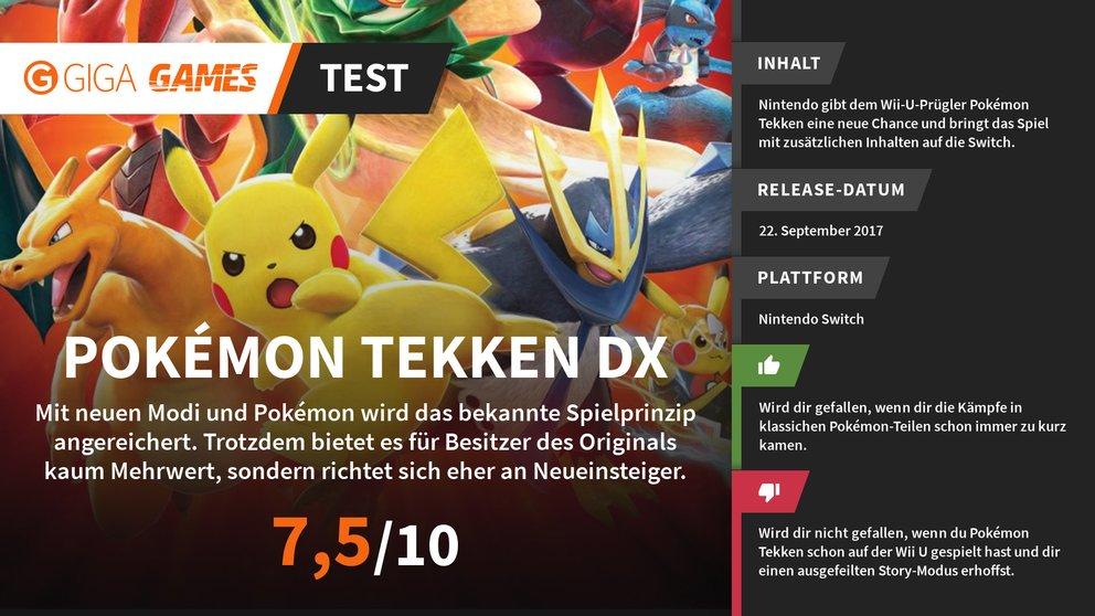 Pokemon_Tekken_DX_Fazit