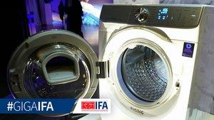 Samsung QDrive: 3D-Effekt spart Zeit beim Waschen