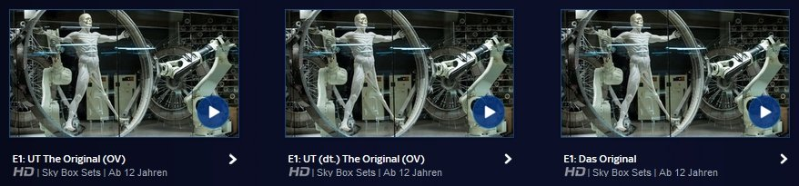 Sky Ticket Untertitel Westworld