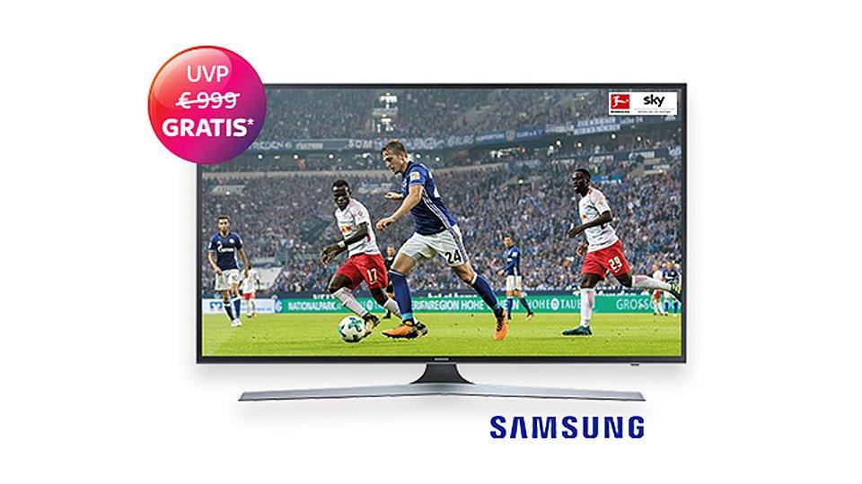 Sky-Angebot zur Champions League: 55-Zoll-4K-Fernseher gratis bei Buchung aller Pakete [Update]